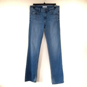 Loft Modern Straight Jeans Light Wash Sz 26